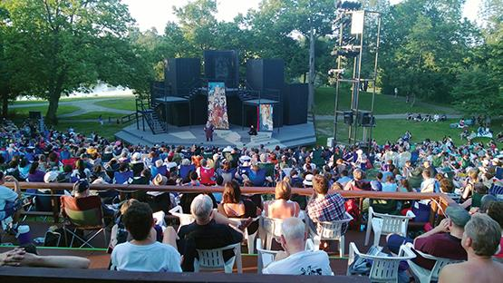 Nature meets culture at Shakespeare in Delaware Park